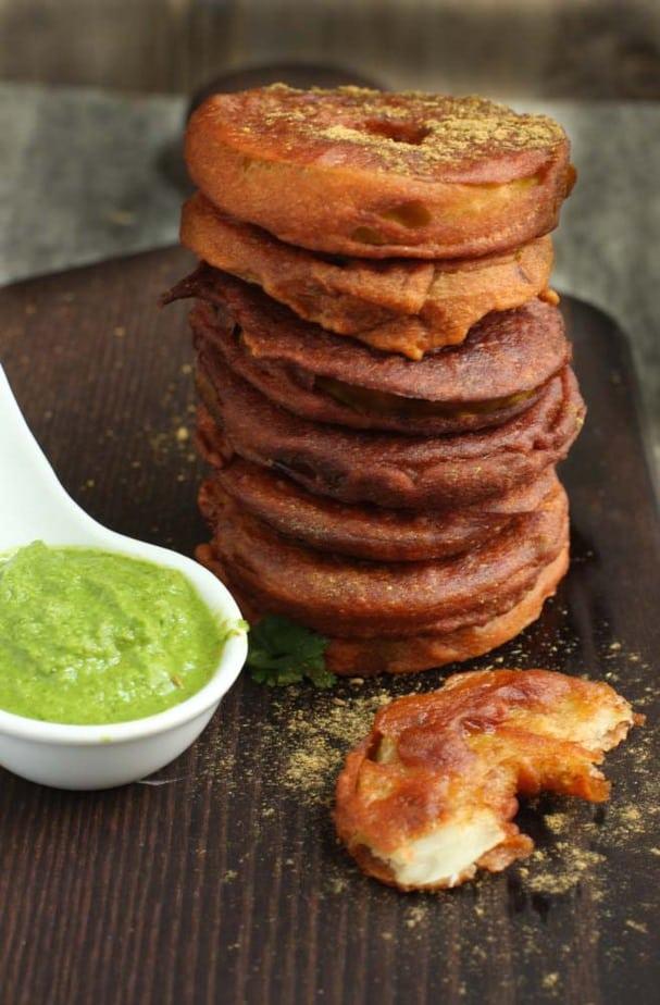 Tsunth Monji - Green Apple Fritters