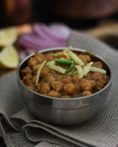 Chole Aloo - Chickpeas & Potatoes