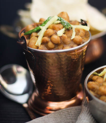 Chole Aloo - Chickpeas & Potatoes