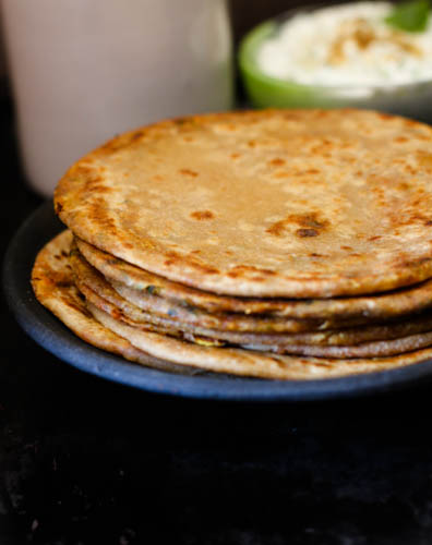 Satpadi - Spiced Griddle bread