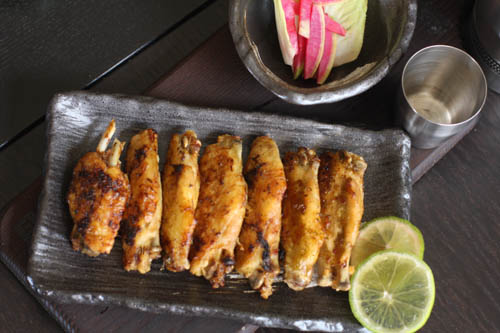 Tequila Lime Chicken Wings