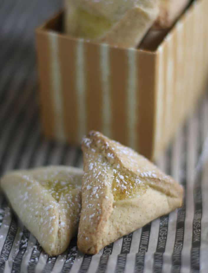 Lemon Hamantaschen #CreativeCookieExchange
