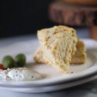 Spiced Parmigiano Scones