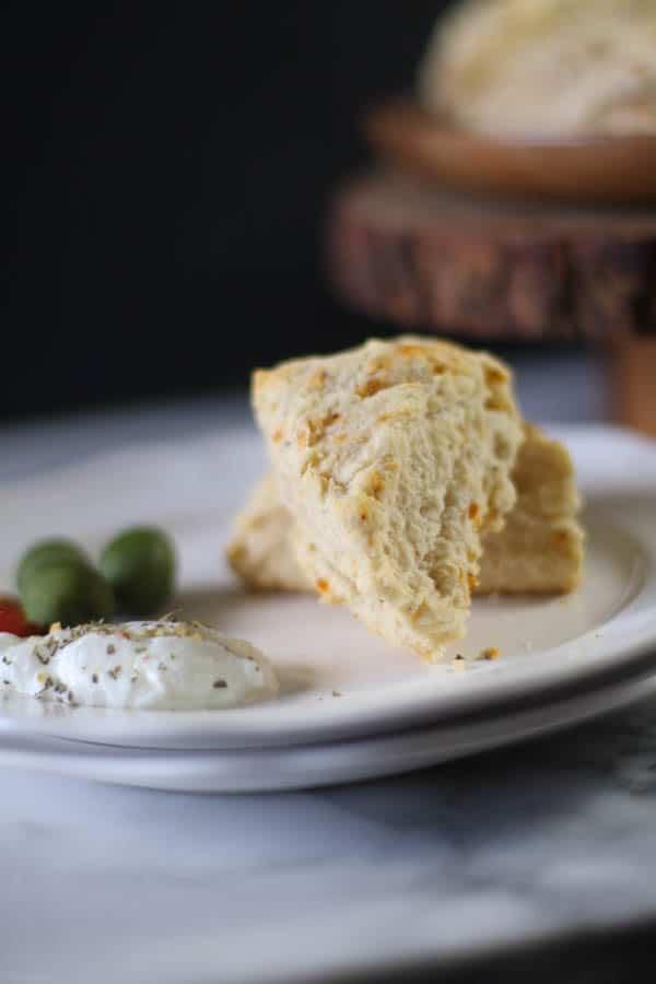 Spiced Parmigiano Scones #CreativeCookieExchange