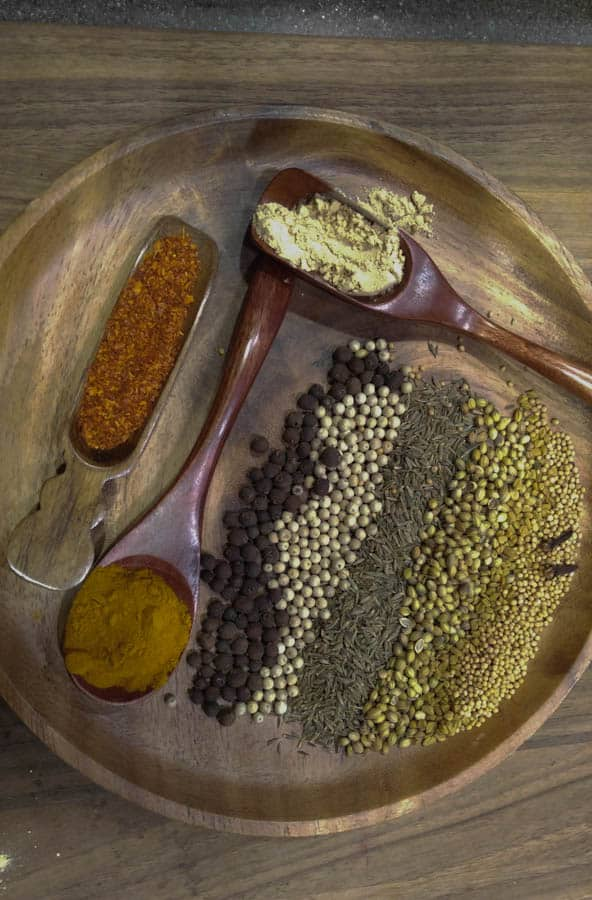 Jamaican Goat Curry Spices