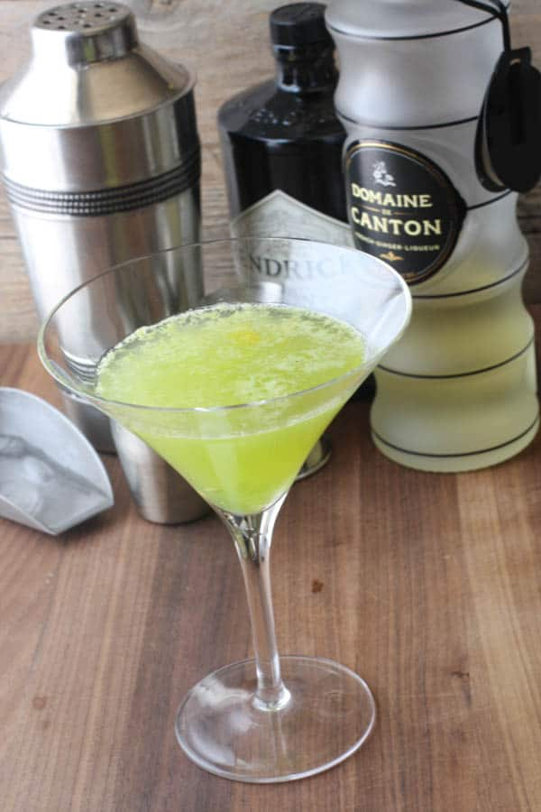 Kiwano Ginger Martini