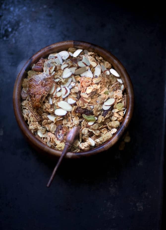 healthy crunchy granola