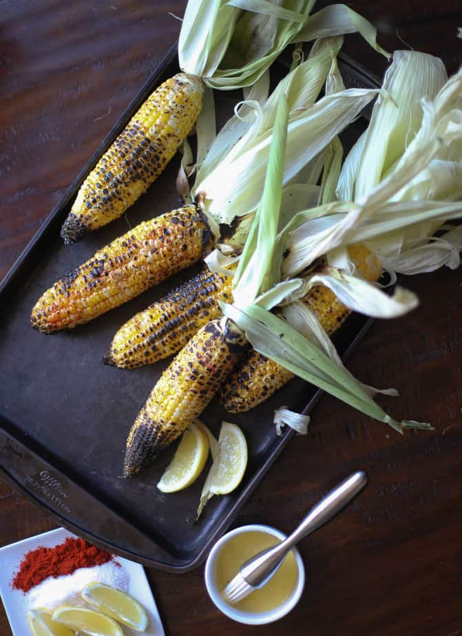 Indian grilled corn on the cob street style bhutta for our recipe today i am using the sweet corn found in most american grocery stores its easily available and everyone loves the taste so why not ccuart Image collections