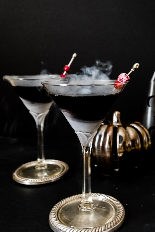 Black Magic Martini