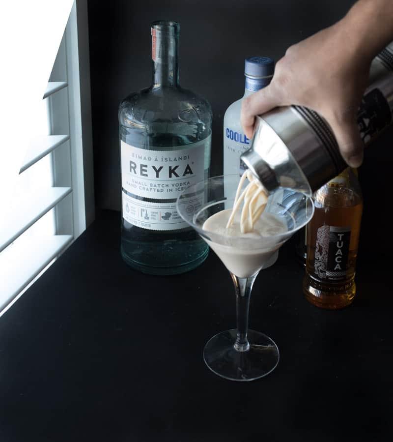 White Chocolate Espresso Martini