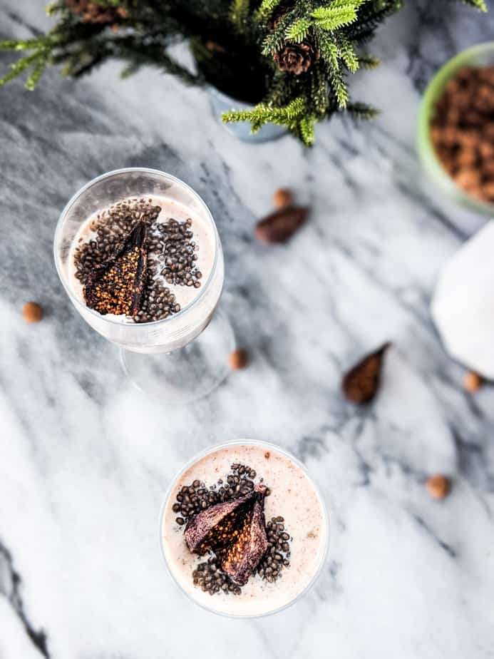Tiger Nut and Fig Smoothie