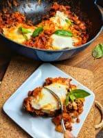 spicy skillet eggs