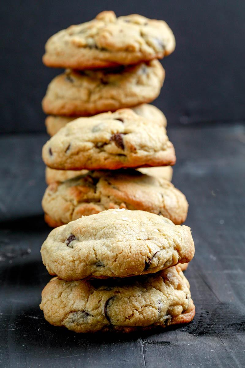 Chocolate chip walnut cookies