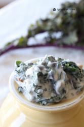 Kale Salad with Yogurt and Mustard